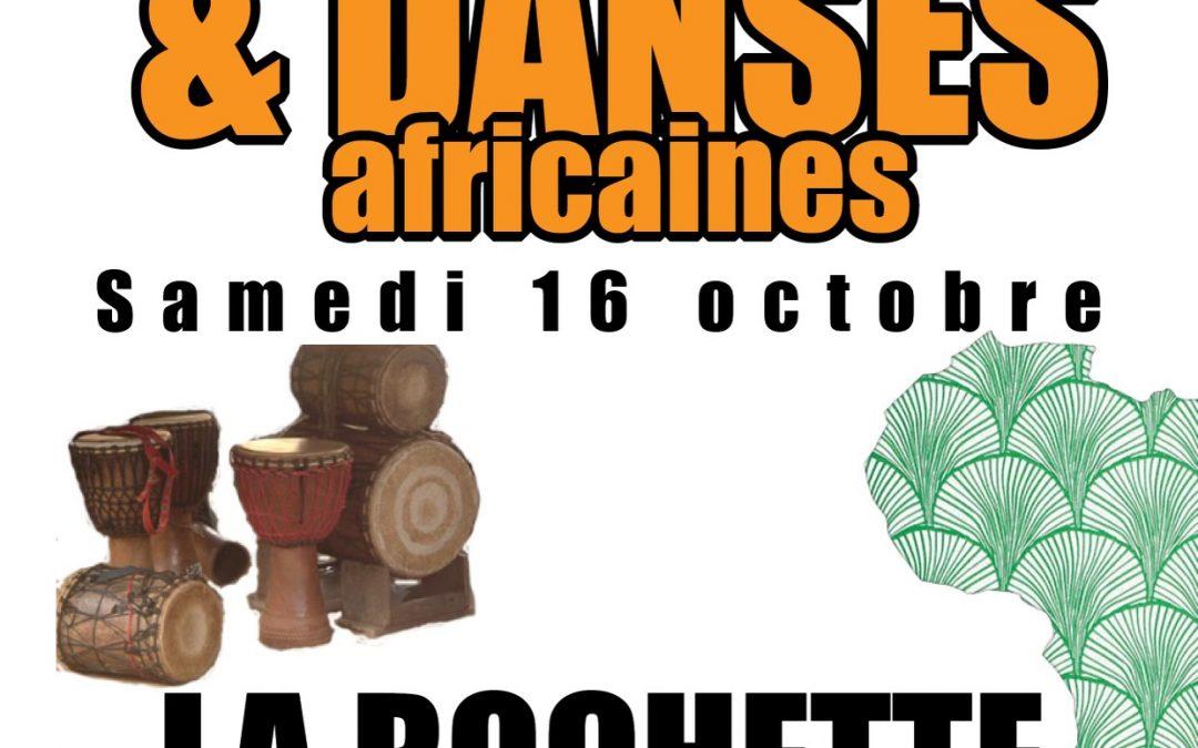 16 Octobre – Stages djembé & danse africaine